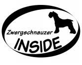 Bekleidung & AccessoiresHundesportwesten mit Hundemotiven inkl. Rückentasche MIL-TEC ®Inside Aufkleber: Zwergschnauzer 1