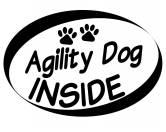 Auto Aufkleber Inside: Agility