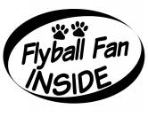Auto Aufkleber Inside: Flyball