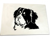 Selbstklebende KreidetafelnHundeBerner Sennenhund - Handtuch 50 x 100 cm