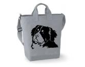 Schenken & ZubehörKleinigkeiten die Freude machenBerner Sennenhund - Canvas Shopper