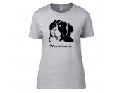 The Mountain FaceThe Mountain-Shirts HundeHunderasse Damen T-Shirt: Berner Sennenhund
