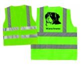 Hundesport Warnweste: Berner Sennenhund