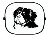 Schenken & ZubehörKleinigkeiten die Freude machenBerner Sennenhund - Sonnenschutzgitter