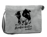 T-ShirtsHunderassen T-ShirtsCanvas Messenger Tasche: Border Collie