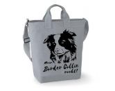 Bekleidung & AccessoiresSchals für TierfreundeCanvas Shopper: Border Collie
