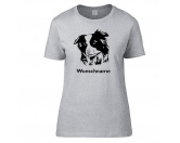 Hunderasse Damen T-Shirt: Border Collie