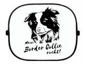 Bekleidung & AccessoiresSchals für TierfreundeSonnenschutzgitter-Hundemotiv: Border Collie