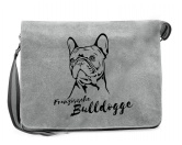The Mountain FaceThe Mountain-Shirts HundeCanvas Messenger Tasche: Französische Bulldogge