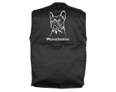 The Mountain FaceThe Mountain-Shirts HundeMil-Tec Hundesport Outdoor-Weste mit Dummytasche: Französische Bulldogge