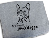 The Mountain FaceThe Mountain-Shirts HundeFleece Schmusedecke -Französische Bulldogge- 127 x 150 cm