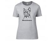 Hunderassen T-ShirtsHunderasse Damen T-Shirt: Französische Bulldogge