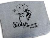 Für MenschenWeihnachtsmarktFleece Schmusedecke -Golden Retriever- 127 x 150 cm