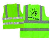 The Mountain FaceThe Mountain-Shirts HundeHundesport Warnweste Sicherheitsweste: Golden Retriever