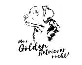 Schmuck & AccessoiresHunderassen Schmuck AnhängerHunderasse Aufkleber: Golden Retriever
