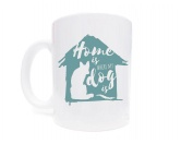 NeuheitenTasse Hundespruch: Home is where my dog is 2