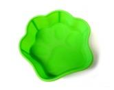 Wasser- & Futternäpfe für Hunde & KatzenHunde Pfoten Silikon Backform -M- grün 500 ml