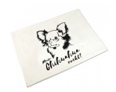 Weihnachten & GeburtstageWeihnachtsartikelHandtuch: Chihuahua 50 x 100 cm