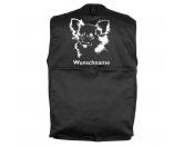 Warnwesten & SicherheitswestenWarnwesten mit Hunderasse MotivenChihuahua - Hundesportweste mit Rückentasche MIL-TEC ®