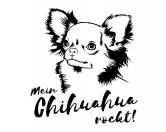 Taschen & RucksäckeBaumwolltaschenWandtattoo -Chihuahua-