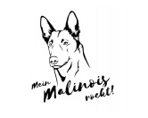 Aufkleber & TafelnHunderasse Aufkleber: Belgischer Schäferhund