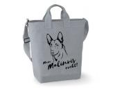 Für TiereHundemotiv - HandtücherCanvas Shopper: Belgischer Schäferhund