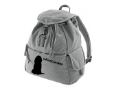 Bekleidung & AccessoiresHundesportwesten mit Hundemotiven inkl. Rückentasche MIL-TEC ®Canvas Rucksack Hunderasse: Bearded Collie 4