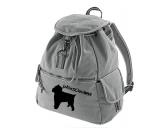 SchnäppchenCanvas Rucksack Hunderasse: Belgischer Griffon
