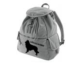 Bekleidung & AccessoiresHundesportwesten mit Hundemotiven inkl. Rückentasche MIL-TEC ®Canvas Rucksack Hunderasse: Belgischer Schäferhund - Tervueren