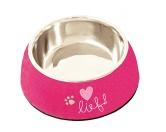 Lief Lifestylelief! Girls Hunde Napf -Pink- 22 cm