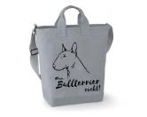 Taschen & RucksäckeBaumwolltaschenCanvas Shopper: Bullterrier