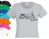 Fan-Shirts für HundefreundeHundespruch T-Shirt: Mantrailing forever