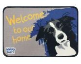 Tierische FußmattenFußmatte mit Hundespruch: Hund Border Collie