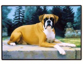 Tierische FußmattenDesigner Fußmatte: Boxer