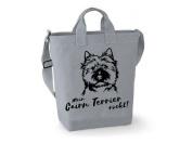 Für MenschenAuto-SonnenschutzCanvas Shopper: Cairn Terrier