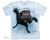 Aufkleber & TafelnThe Mountain T-Shirt - Underwater Dog Duchess