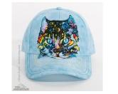 Tierische TürstopperTürstopper TiereThe Mountain Cap: Hypno Cat Katze - Blue