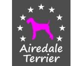 SchnäppchenSoftshell-Jacke-Hoody: Airedale Terrier Einzelstück