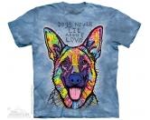 Socken mit TiermotivSocken mit HundemotivThe Mountain T-Shirt - Schäferhund Dogs Never Lie