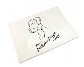 Bekleidung & AccessoiresHundesportwesten mit Hundemotiven inkl. Rückentasche MIL-TEC ®Handtuch: Deutsche Dogge 50 x 100 cm