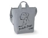 Leben & WohnenTeelichthalterCanvas Shopper: Deutsche Dogge