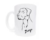 Für TiereHundemotiv - HandtücherTasse Hunderasse: Dänische Dogge