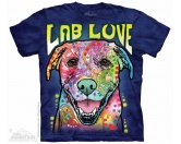 The Mountain FaceThe Mountain-Shirts HundeThe Mountain T-Shirt - Labrador Lab Luv