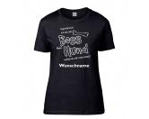 Bekleidung & AccessoiresSchals für TierfreundeHundespruch Damen T-Shirt: Boss
