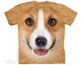Schmuck & AccessoiresMetall-Hundekopf PinsThe Mountain T-Shirt - Corgi Face