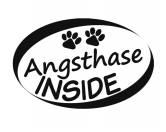 SchnäppchenAuto Aufkleber Inside: Angsthase