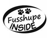SchnäppchenAuto Aufkleber Inside: Fusshupe