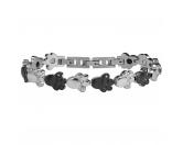 Für MenschenNostalgische GeschenkartikelEnergy & Life Schmuck-Armband: 4in1 Pfote - Pfötchen