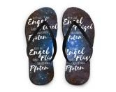 Flip Flops Sandalen Nicht alle Engel haben Flügel