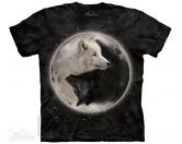 NeuheitenMountain Shirt Wolf -  Yin Yang Wolves EINZELSTÜCK
